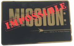 【テレカ】MISSION:INPOSSIBLE ポイント購入可 カード決済不可 ※送料無料対象外商品※