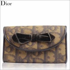 新品 本物 Christian Dior クリスチャンディオール キーケース ディオール ブラウン cpv43101-br