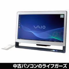SONY VAIO 液晶一体型PC Windows7 Pentium P6100 RAM4GB HDD500GB DVDマルチ 21.5型ワイド DVDマルチ 地デジ VPCJ127FJ 中古PC 2146