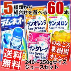 【送料無料】サンガリア 缶飲料 選べる60本 (30本×2ケース)