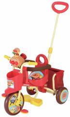 【送料無料】おでかけ三輪車 わくわくアンパンマンごう ピース