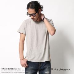 Nudie Jeans ヌーディージーンズ Tシャツ 半袖 無地 クルーネック オーガニックコットン O-NECK TEE 131411 5563【pre_d】