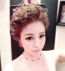 ウェディング ヘッドドレス   結婚式 髪飾り 花嫁 パーティー 披露宴 二次会  アクセサリー ジュエリー  17