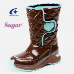 ムーンスター Sugar シュガー SG WPJ47SP ジュニア 女の子 スノーブーツ 子供用防寒ブーツ