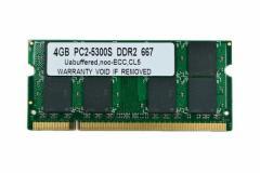 SODIMM 4GB PC2-5300 DDR2 667 200pin CL5 MACメモリー 【大容量希少品】 「メール便可」