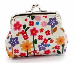 ◆花がらシリーズ◆がま口財布・コインケース★箱付き★贈り物に1317