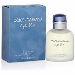 ドルチェ&ガッバーナ DOLCE & GABBANA D&G 香水 ライトブルー プールオム オードトワレ スプレー EDT SP 75ml