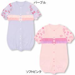 【2/27までさらに10%OFF】NEW♪MYFIRST_フリル付2WAYオール(カバーオール/ドレスオール)-新生児用 ベビーサイズ 子供服-8783B