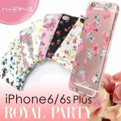 iPhone6Plus iPhone 6sPlus 【ROYAL PARTY/ロイヤルパーティー】 「ハードケース」 花柄