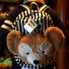 ダッフィー【ディズニーシー限定】Duffy ダッフィー バッグ リュックバッグ♪ お顔厳選♪【上海ディズニー輸入】