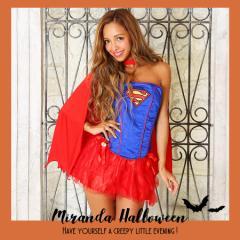 スーパーウーマン スーパーマン キャラクター ハロウィン 仮装 ハロウィン 衣装 コスチューム コスプレ プチプラ グループ 団体