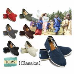 TOMS 靴 レディース Canvas Womens Classics トムスシューズ キャンバス エスパドリ—ユー TOMS