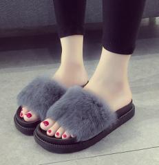履き心地快適ぺたんこ★可愛いデザイン ★ふわふわ靴★スリッパ 2色 ZP2797