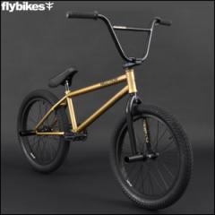 "BMX FLYBIKES フライバイクス 2017 ""NEUTRON 20.75 LHD"" METALLIC GOLD ストリート 自転車 20インチ"