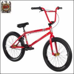 """【話題のコラボモデル】SUBROSA × SLAYER サブローザ """"20"""" BMX Complete Bike"""" レッド 20インチ"""