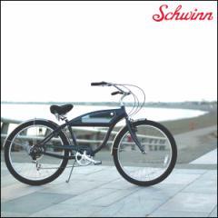 "SCHWINN 2017 シュウィン""PANTHER"" パンサー 27.5インチ ビーチクルーザー 自転車"