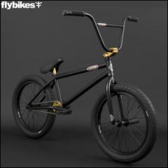 "BMX FLYBIKES フライバイクス 2017 ""SION 21.0 RHD"" FLAT BLACK ストリート 自転車 20インチ"