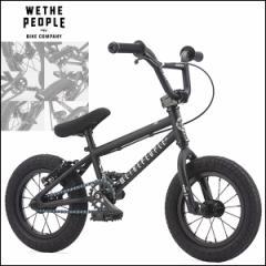 """【2017モデル】BMX 完成車 WETHEPEOPLE """"PRIME"""" 12インチ 12 Matt Black ストリート パーク 自転車"""