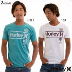 Hurley ハーレー Tシャツ メンズ 半袖 コットン トップス プレミアムフィット ARCHITECTURE ナンバリング O&Oロゴ
