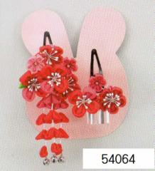 七五三 髪飾り 頭飾り (うさぎちゃんケース入)54064