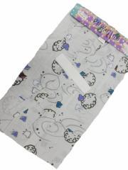 男子 3〜4歳 男子 子供浴衣 グレー地 千鳥 渦柄 no614