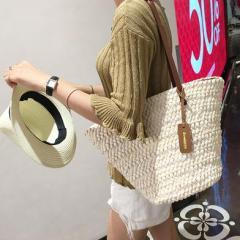 かごバッグ ストローバッグ メッシュバッグ ビーチバッグ 天然素材  草編みバッグ 夏 森ガール レディース 女性用  斜めがけ