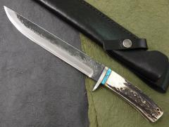 義(よし) J-4 刃長:150mm 和式黒打小刀業物...