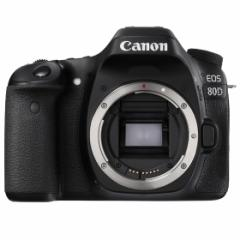 【最安価格!】【送料無料】【即納】Canon EOS 80D ボディ【2420万画素】