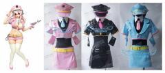 すーぱーそに子  女子警察官 宇宙警察ver.風  コスプレ衣装   ハロウィン 仮装会 完全オーダメイドも対応可能