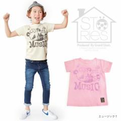 STORIES ストーリーズ 子供服 17春夏 ミュージックTシャツ ベビー キッズ 4171012