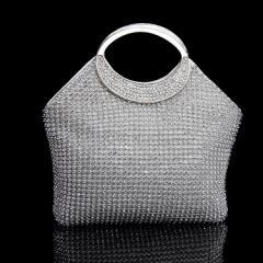 レディースバッグ パーティーバッグ クラッチバッグ 激安 上品感 贅沢ラインストーン 大きめバッグ