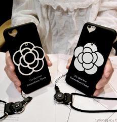 [予約]ミラー付カメリア スマホケース ネックストラップ付iPhone6/6s、iPhone6plus/6s plus、iPhone7、iPhone7 plus