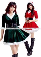 2色あり クリスマス コスプレ コスチューム クリスマス衣装