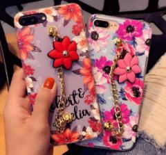 [予約]花柄スマホケース6色iPhone6/6s、iPhone6plus/6s plus、iPhone7、iPhone7 plus アイフォンカバー