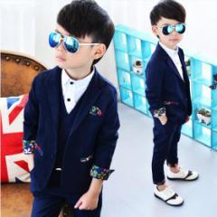 子供服 フォーマル 男の子 七五三  スーツ 入学式 タキシード キッズ 結婚式 韓国 七五三・結婚式ベビー&ジュニア