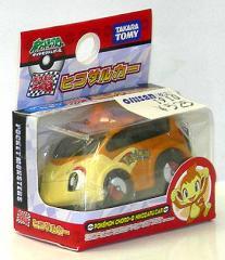 ポケモンチョロQ【ヒコザルカー】タカラトミー