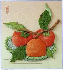 東芸押し絵キット H8922 「富有柿」 押絵キット 【取り寄せ/通常納期1〜2週間】