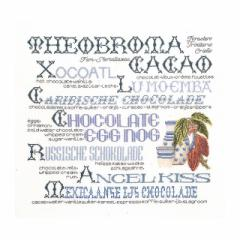 Thea Gouverneur クロスステッチ刺繍キットNo.3013 「Chocolate Sampler」(チョコレート・サンプラー) 【取り寄せ/納期40〜80日程度】
