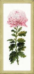 RIOLISクロスステッチ刺繍キット No.1425 「Gentle Flower」 (ジェントル・フラワー)