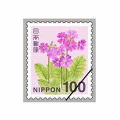 日本郵便 100円切手 【100枚組】1シート サクラソウ/00-2617