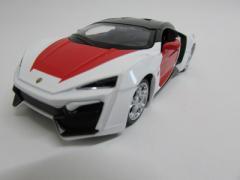 ダイキャストミニカー 1/32 Labanese Super Car レバノン スーパーカー ホワイト