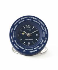 Worldtime Alarm Clock ワールドタイムアラームクロック  jf053 ネイビー