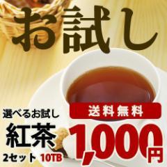 21種類の紅茶から選べるお試し紅茶  2セット(5TB×2)2種類お選び頂けます 【送料無料】