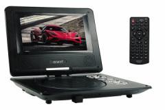 7型 ポータブル DVDプレーヤー arwin アーウィン APD-700N CPRM対応 3電源 バッテリー内蔵 即納!!