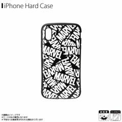 iPhone XS Max ハードケース PG-DCS532MVL【5323】 Premium Style MARVEL マーベル 耐衝撃 衝撃吸収 ロゴ ブラック PGA