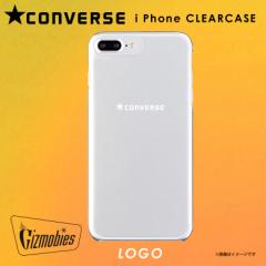 iPhone 8Plus iPhone 7Plus ハードケース AB-0748-IP7P【7419】 CONVERSE コンバース クリア LOGO ロゴ ベロシティ