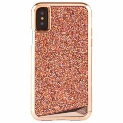 iPhoneX 【Case-Mate/ケースメイト】 「Brilliance Case Rose Gold」