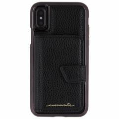 iPhoneX 【Case-Mate/ケースメイト】 「Comapct Mirror Case Black」