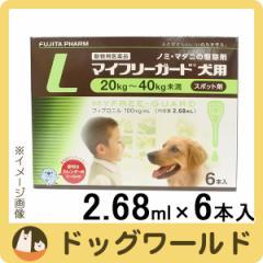 マイフリーガード 犬用 L 20〜40kg 6本入