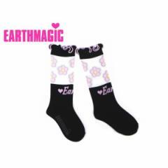 EARTHMAGIC アースマジック 子供服 18春 フラワーハイソックス ea38182318